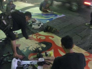Malioboro Mural Night Competition