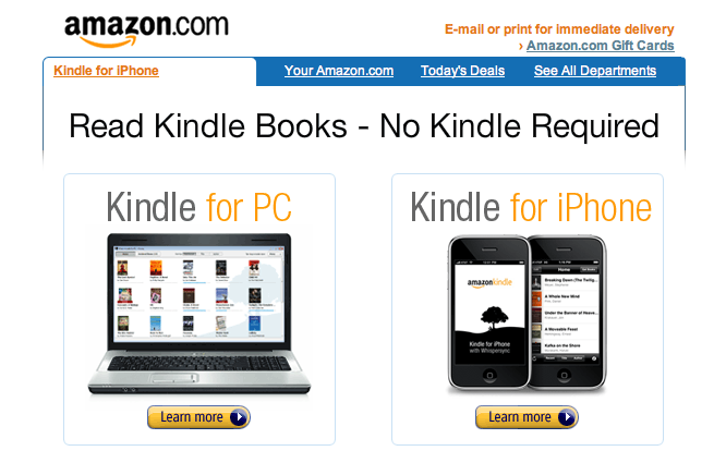 Kindle Coopetition